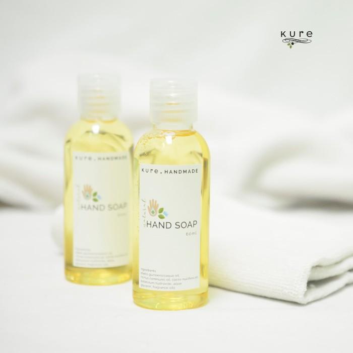 Foto Produk KURE Natural Hand Soap Travel Size (Sabun Cuci Tangan) dari KURE HANDMADE