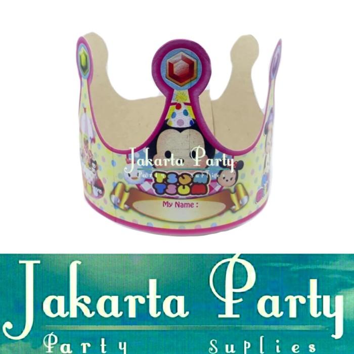 Foto Produk Topi Ultah Mahkota Tsum-tsum / Topi Ultah Tsumtsum / Topi Ulang Tahun dari Jakarta Party