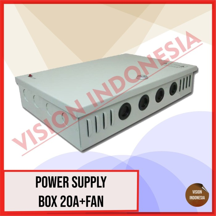 Foto Produk BOX POWER SUPPLY / POWER SUPPLY BOX 20A+FAN dari VISION INDONESIA