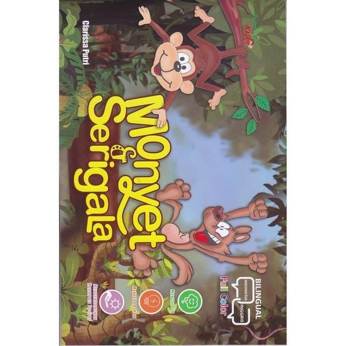 Gambar Monyet Dan Anaknya Animasi Jual Buku Anak Monyet Dan Serigala Jakarta Selatan Boookstore Tokopedia