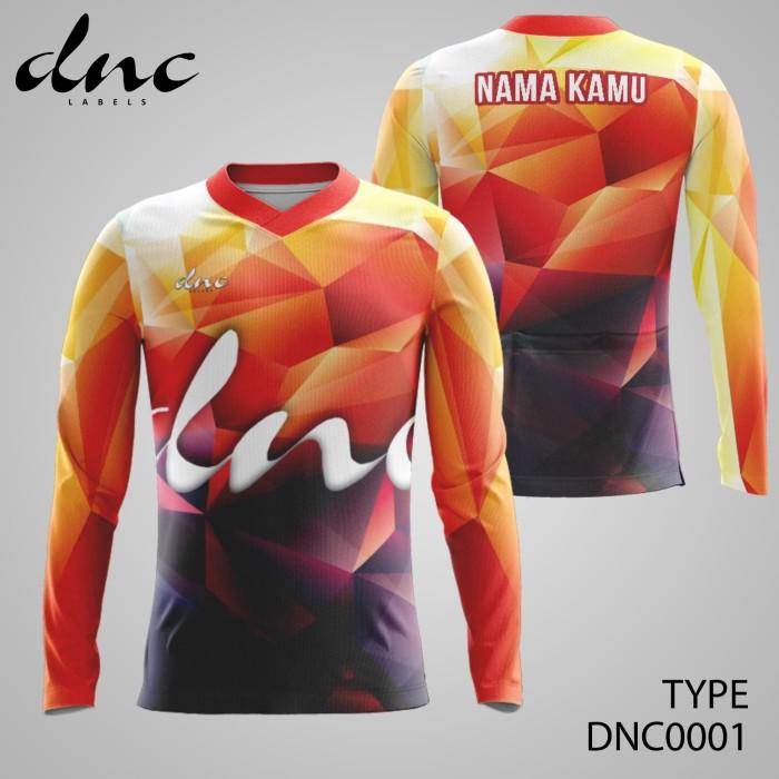 Foto Produk Kaos Jersey Sepeda DNC Labels Premium ORIGINAL dnclabels - L dari ot-design