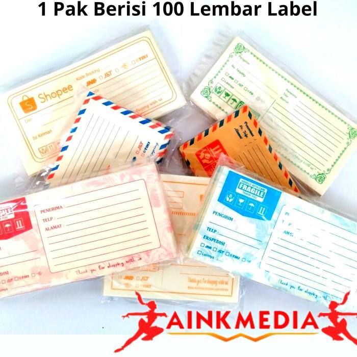 Foto Produk Label Alamat Olshop Serba 5000 an dari ainkmedia
