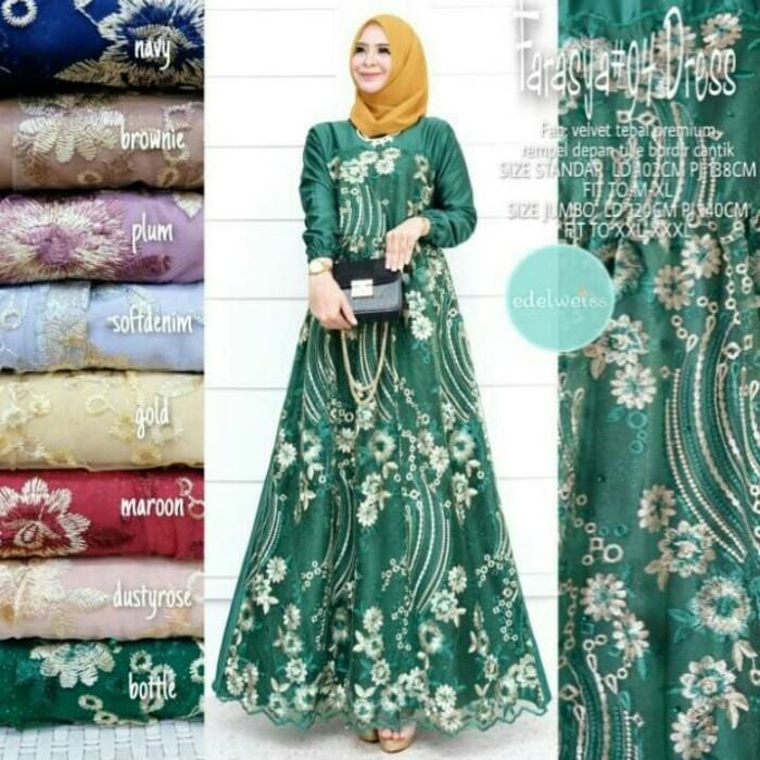 Jual Farasya Dress Tile 94 Original Gamis Brokat Baju Gamis Terbaru 2020 Jakarta Utara Ayu Jeans Tokopedia