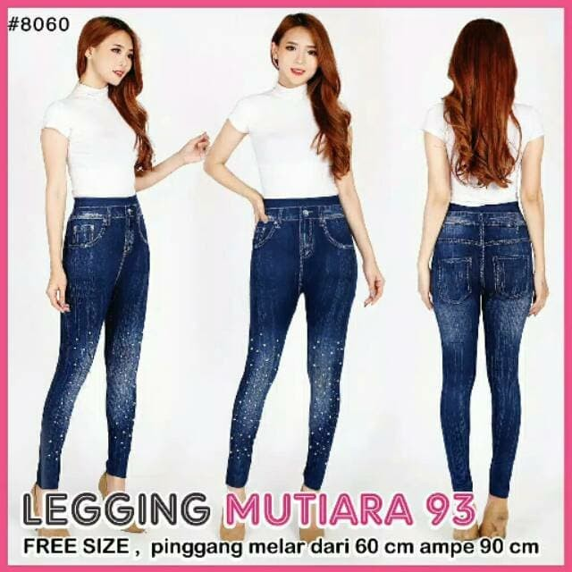 Jual Legging Mutiara Legging Kekinian Legging Cewe Murmer Kab Tangerang Aura Fashion Mode Tokopedia