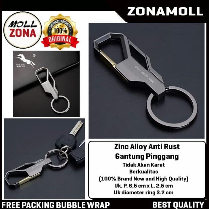 Foto Produk Gantungan Kunci Mobil Motor Zinc Alloy Anti Rust Gantung Pinggang dari ZonaMoll