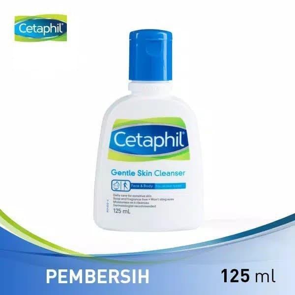 Jual Sabun Wajah Cetaphil Gentle Skin Cleanser 125ml Kota Tangerang Selatan Bigshop45 Tokopedia