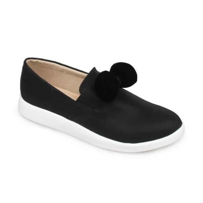 Foto Produk Sepatu Wanita Symbolize/Sepatu Slip On Wanita/Hitam - Hitam, 36 dari CHETO BARBAR