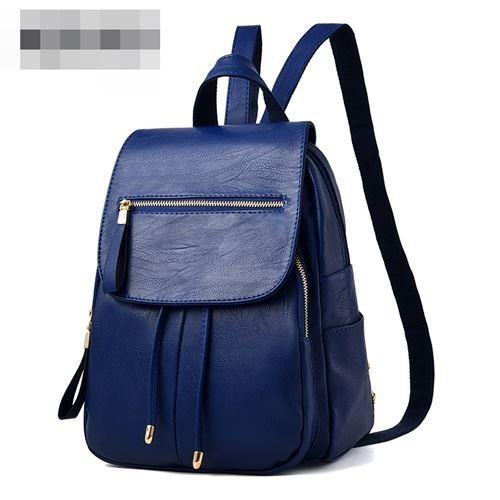 Foto Produk READY STOK JT0061-blue Tas Ransel Wanita Kekinian Import dari AlMirah Olshop