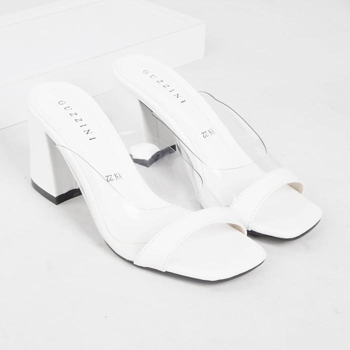 Foto Produk Guzzini YN 22 Putih - Sandal Block Heels Wanita dari Guzzini