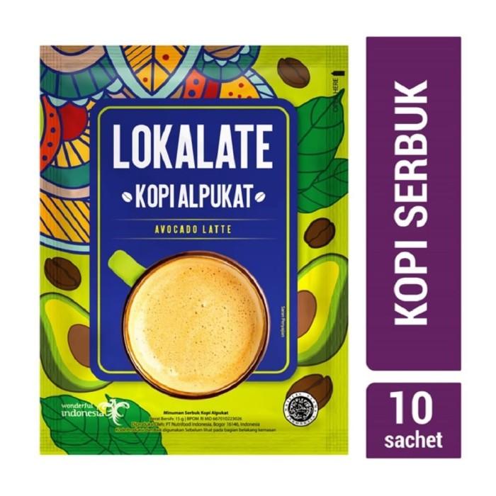 Foto Produk Lokalate Kopi Alpukat (10 Sch) dari NutriMart