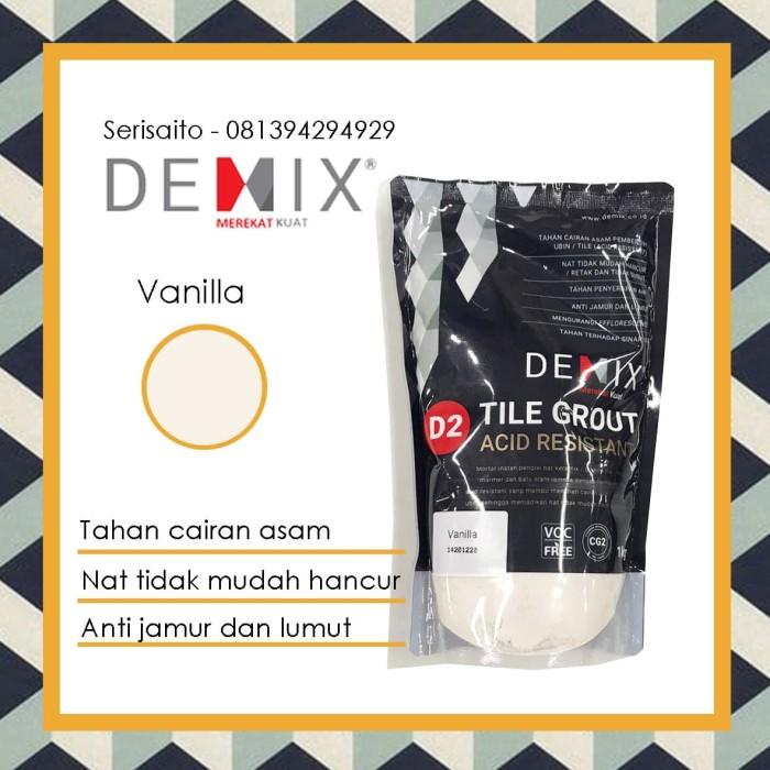 Foto Produk Semen Nat Demix Vanilla (Cream Muda) / Pengisi Nat Keramik Granit dari serisaito
