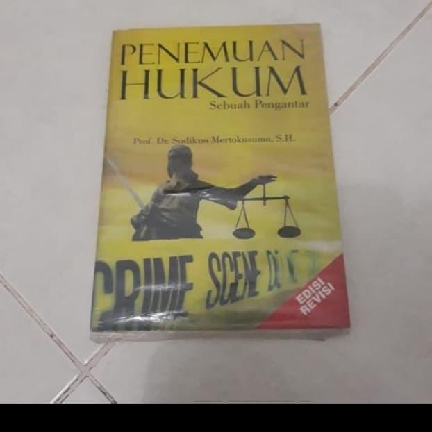 Foto Produk Buku penemuan hukum sudikno dari iinbuku