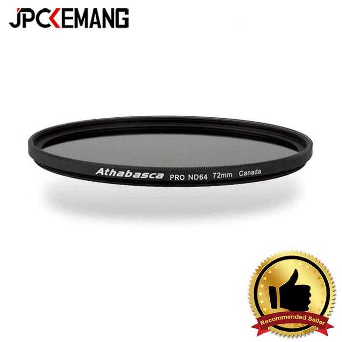 Foto Produk ND Filter Athabasca ND64 Pro Filter Lensa Athabasca ND64X Pro - 72mm dari JPCKemang