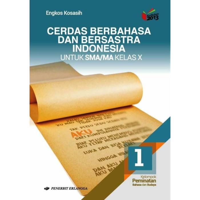 Foto Produk BUKU CERDAS BERBAHASA DAN BERSASTRA INDONESIA SMA KELAS 1 K13 ERLANGG dari BIGBOOK SHOP