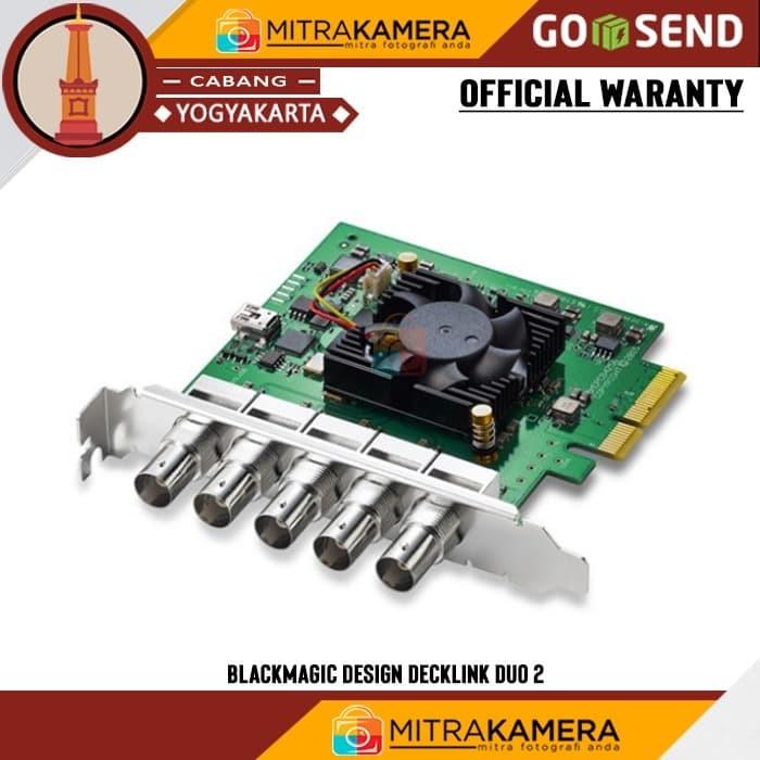Jual Blackmagic Design Decklink Duo 2 Mini Capture And Playback Card Hitam Kota Yogyakarta Mitrakamera Jogja Tokopedia