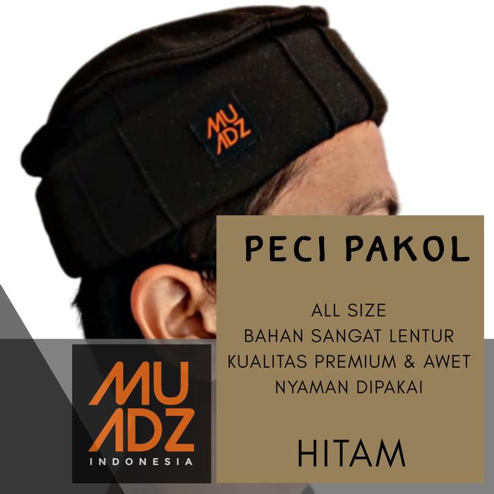 Foto Produk Peci Pakol Taliban Afghanistan - MUADZ - Pria - Hitam dari HAVI Store