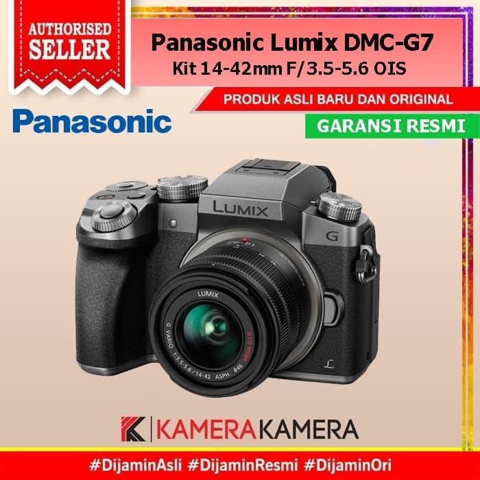 Foto Produk Panasonic DMC-G7K / g7 / g7k Kit Silver 14-42mm Garansi Resmi 1th dari kamerakamera