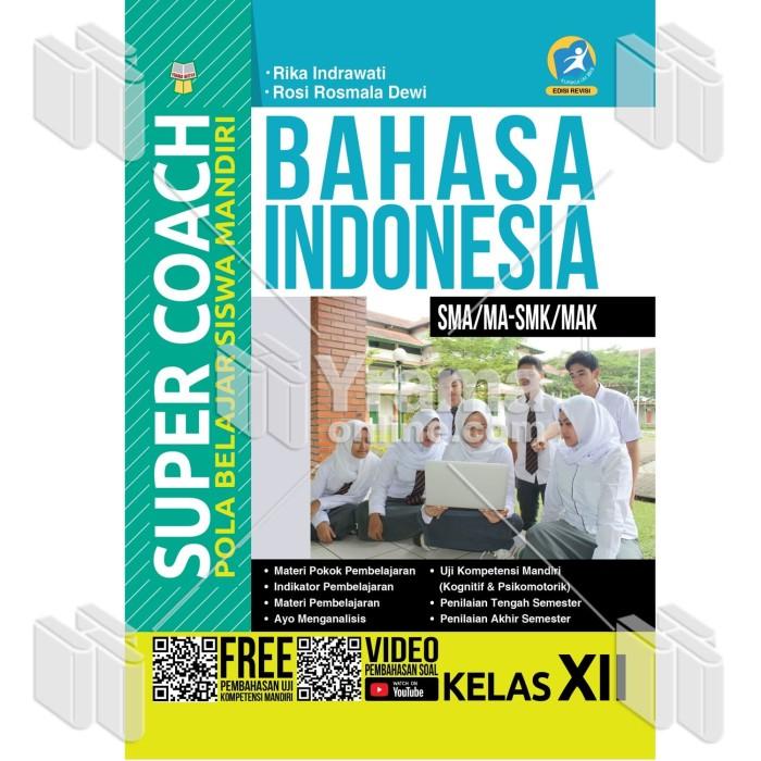 Foto Produk BUKU SUPER COACH BAHASA INDONESIA SMA/MA-SMK/MAK KELAS XII dari Yrama Widya Online