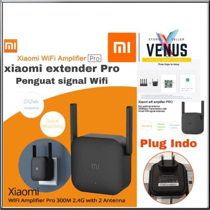 Foto Produk Xiaomi WiFi Range Extender Repeater Pro 300Mbps- Mi WiFi EXTENDER PRO dari venus mobile