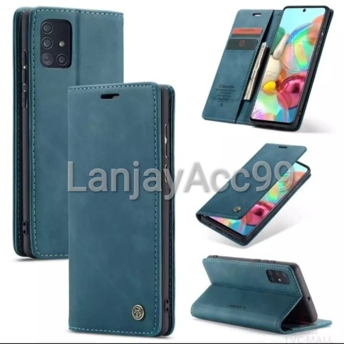Foto Produk Flip Cover Samsung A51 2020/A515 Case Wallet Leather CASEME ORIGINAL dari LanjayAcc99
