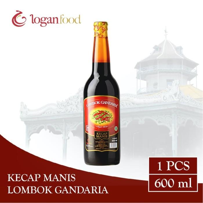 Foto Produk Kecap Manis Lombok Gandaria Botol Kaca 600 ml dari Lombok Gandaria