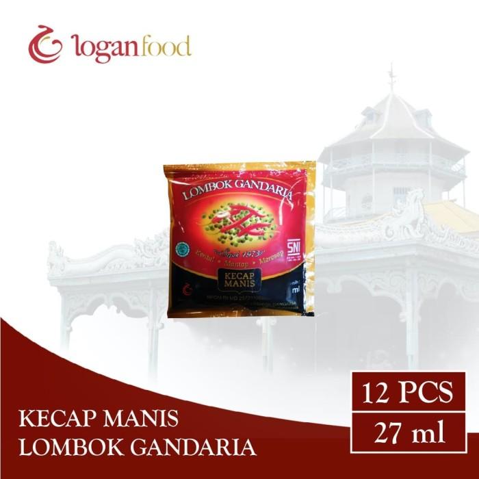 Foto Produk Kecap Manis Lombok Gandaria Sachet 27 ml dari Lombok Gandaria
