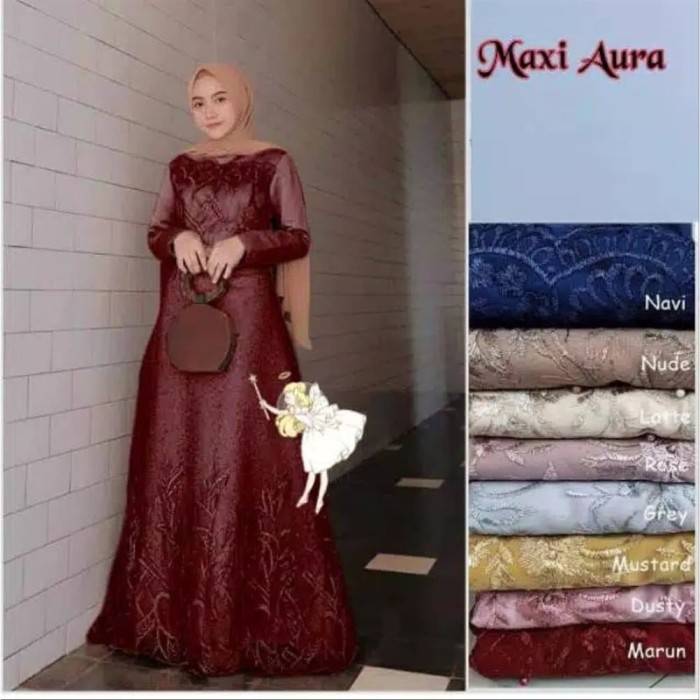 Jual Baju Gamis Syari Wanita Muslim Terbaru Busana Wanita Muslim Pesta Jakarta Barat Ariestore01 Tokopedia