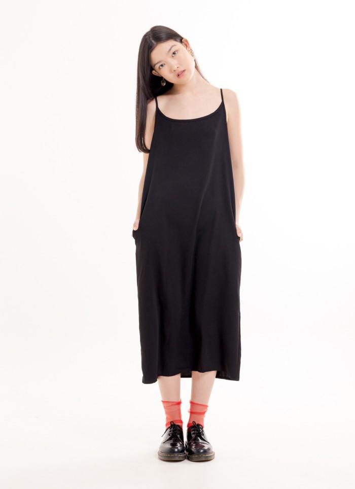 Foto Produk Tessa Dress - Black Bobo Tokyo dari Bobo Tokyo