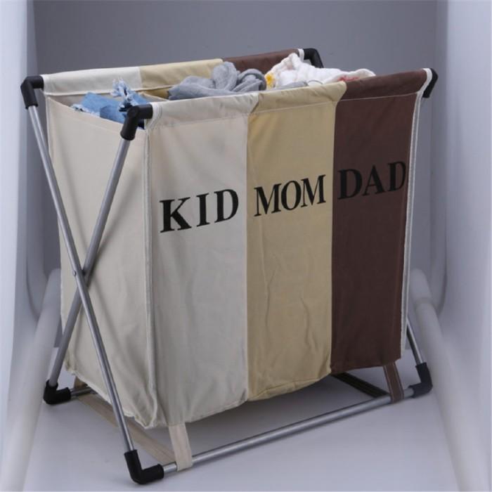Jual 3 Gird Foldable Dirty Large Laundry Basket Organizer Hamper Sorter Jakarta Barat Glorius1 Tokopedia