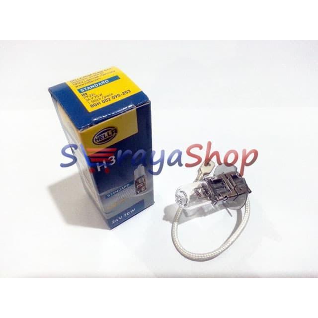 Foto Produk Lampu Halogen H3 (Fog Lamp) 24V 70W Hella dari Seraya Shop