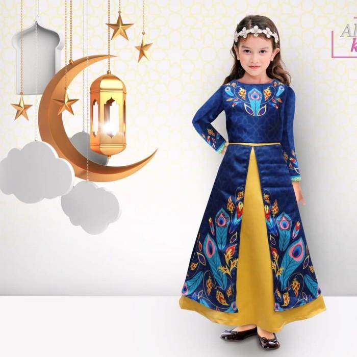 Foto Produk Baju Muslim anak arabian blue dari mysha branded