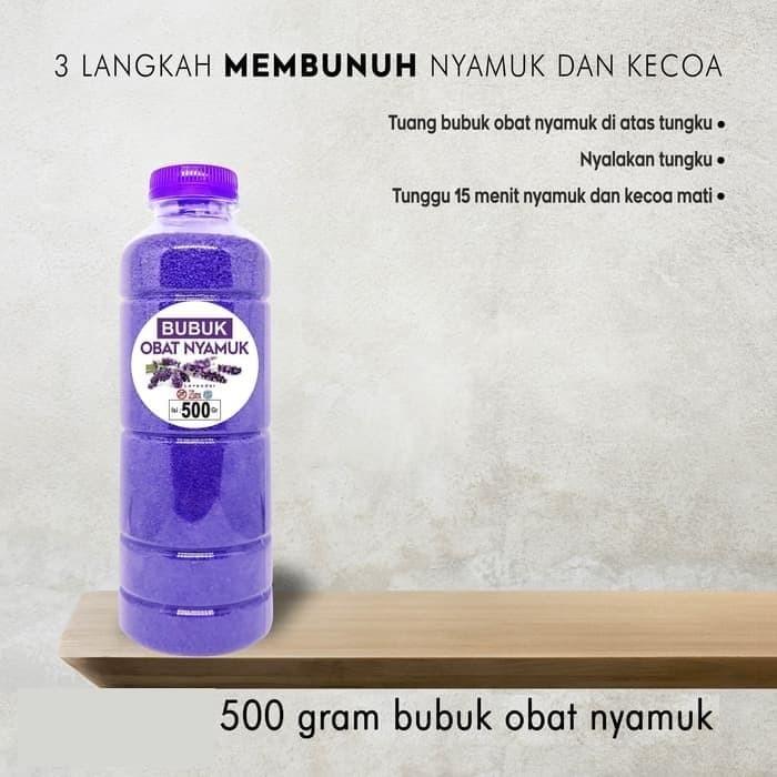 Foto Produk Refill Obat Nyamuk Organik/Pasir Magic/Pasir Ajaib Murah 500gr dari ALBALAD MOSLEM STORE