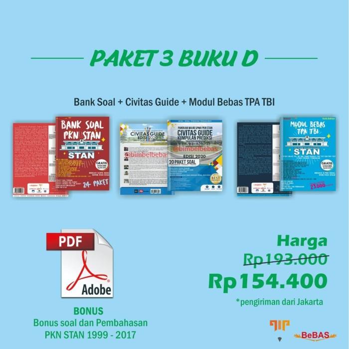Jual Paket 3 Buku D Bank Soal Civitas Guide Modul Bebas Tpa Tbi Kota Madiun Bimbel Bebas Madiun Tokopedia