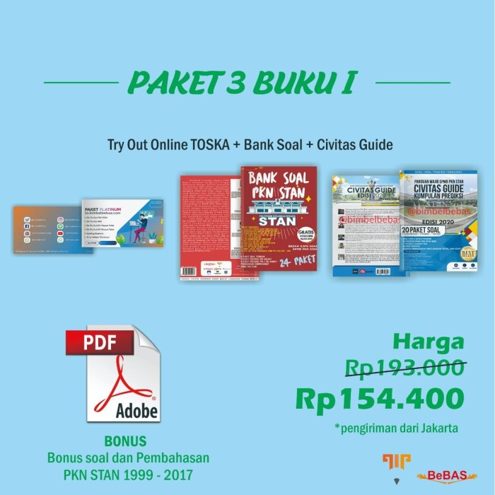 Jual Paket 3 Buku I Try Out Platinum Bank Soal Civitas Guide Kota Madiun Bimbel Bebas Madiun Tokopedia