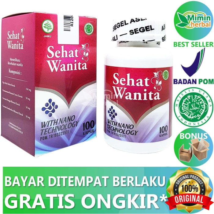 Foto Produk Sehat Wanita With Nano Technology Ori Upgrade Walatra Bersih Wanita - 50 Kapsul dari MIMIN HERBAL