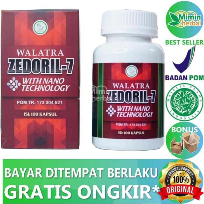 Foto Produk Walatra Zedoril 7 100% Original Dikrim Dari Gudang dari MIMIN HERBAL