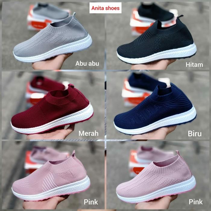 Jual Sepatu Wanita Sneakers Fashion Tt Sniper 36 40 Sepatu