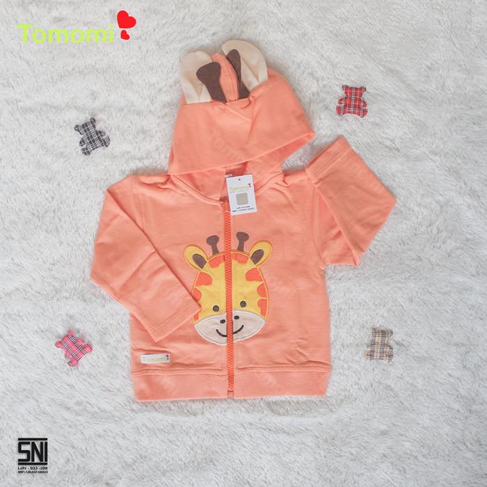 Foto Produk Jaket Bayi Animal - Orange, 12-18 Bulan dari Tomomi Baby Wear