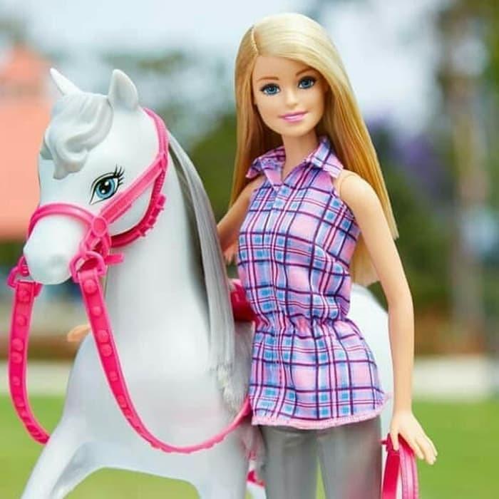 Jual Barbie Doll Horse Mainan Anak Perempuan Ori Kota Medan Seven7 Shopp Tokopedia