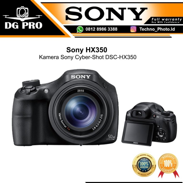 Foto Produk Sony HX350 -Kamera Sony Cyber-Shot DSC-HX350 dari DG PRO
