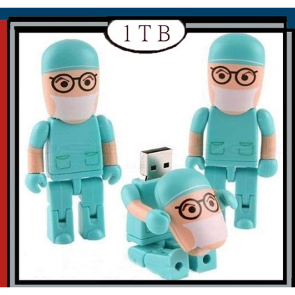 Foto Produk USB Flashdisk unik kreatif bentuk dokter/petugas medis- 1 TB dari Sanz_Shop0612