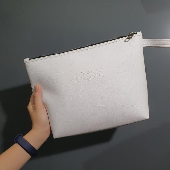 Foto Produk Tas Kosmetik / Tas Skin Care / Handbag - Putih dari CubWorld