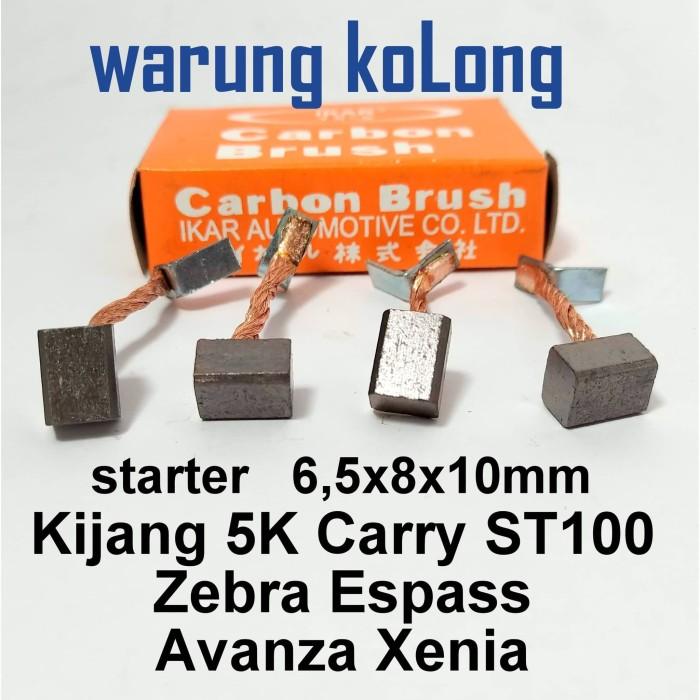 Foto Produk ARANG DINAMO CARBON BRUSH STARTER KIJANG SUPER CARRY AVANZA XENIA S88 dari Warung KoLong 542