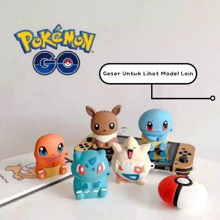 Foto Produk Case Airpods Pokemon Untuk Inpods12 Dan Airpods 1 2 Casing Premium dari QuickSurf Official Shop