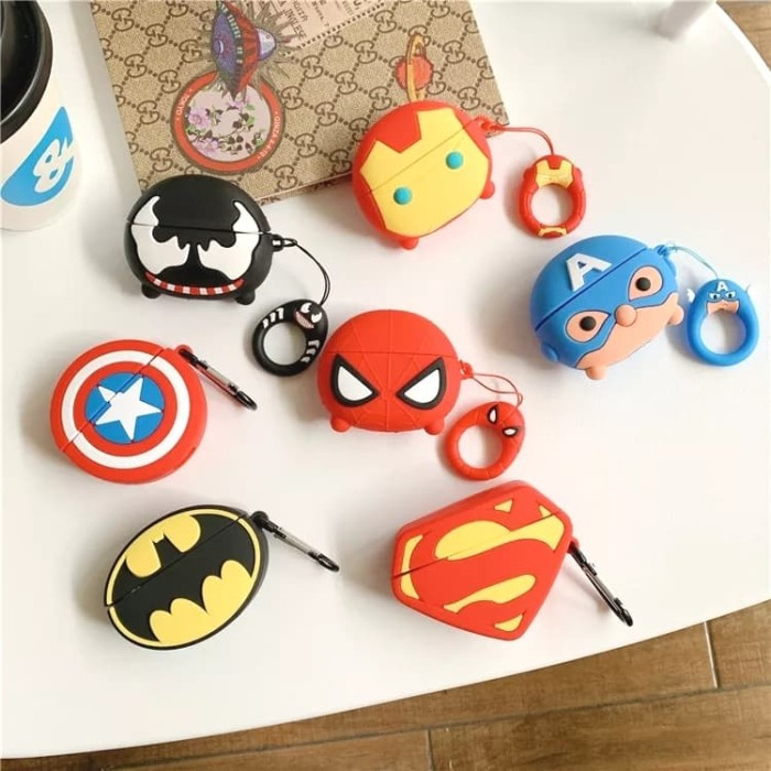 Foto Produk Airpods PRO / Airpods 3 MARVEL 3D Silicone Airpods Case Pouch dari VIWI