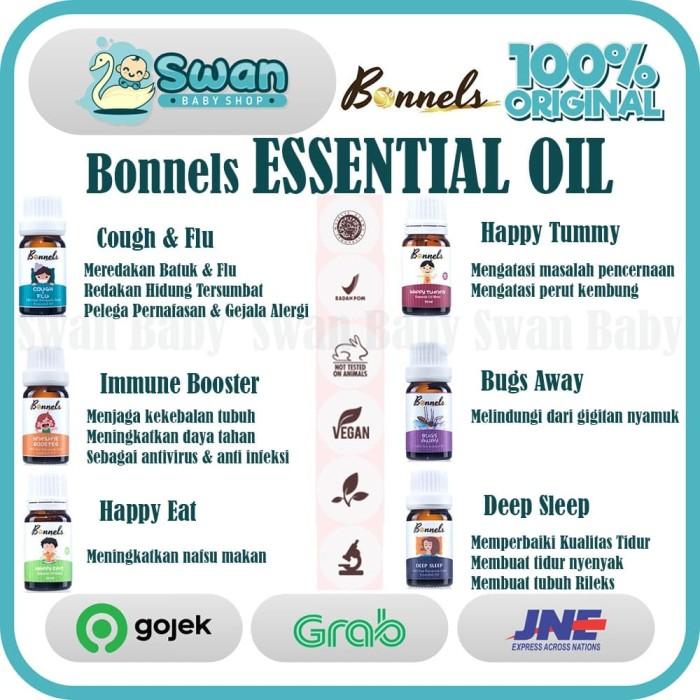 Foto Produk Bonnels Essential Oil 10ml [PROMO] - Cough n FLu dari Swan Baby Shop
