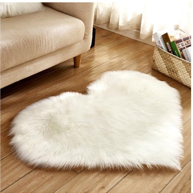Jual Karpet Bulu Imitasi Lembut Bentuk Hati Ukuran 40X50Cm Bajuidaman96 - Jakarta Selatan - bajuidaman20 | Tokopedia