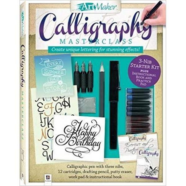 Foto Produk Art Maker Calligraphy Masterclass Kit (portrait) - 9781488910104 dari Periplus