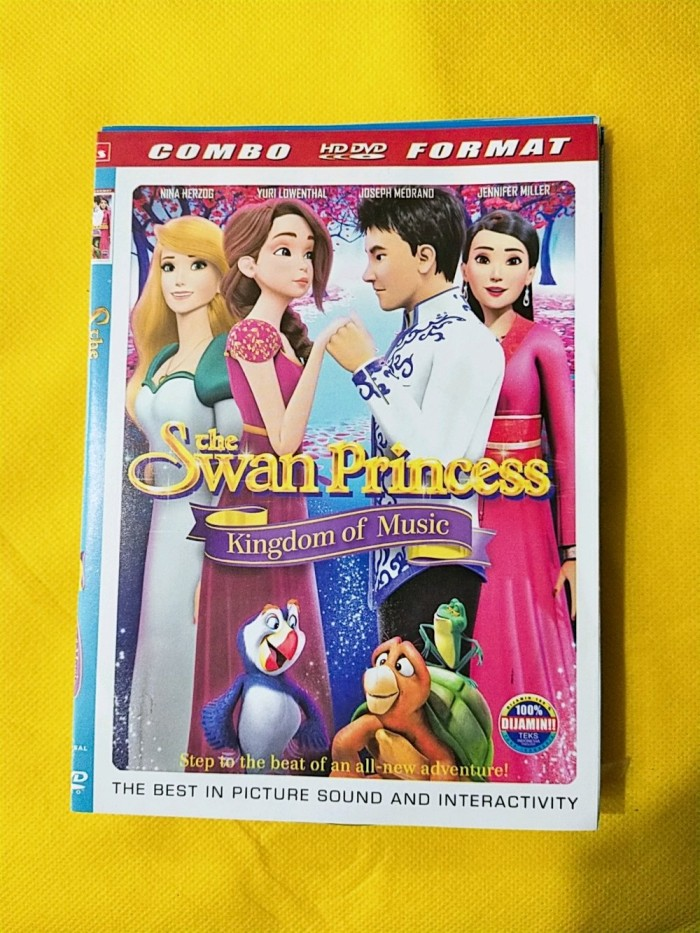 Jual New Dvd Film Untuk Anak Cewek Rapunzel The Swan Princess Jakarta Barat Henhen Galaxy Shop Tokopedia
