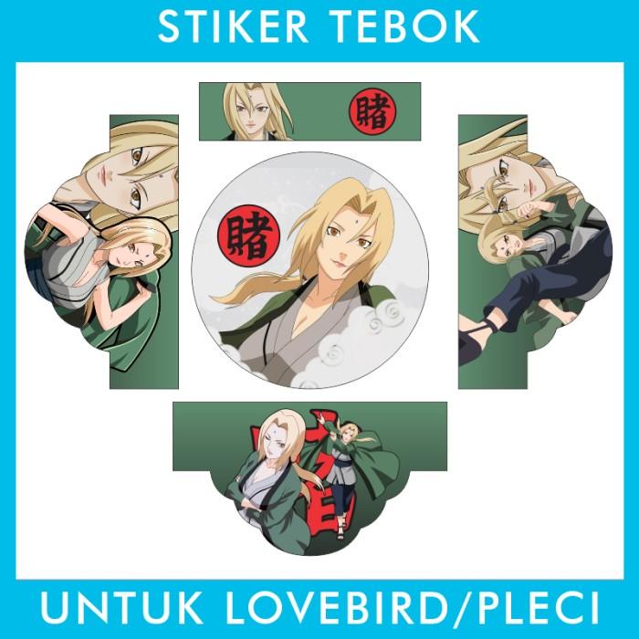 Foto Produk Stiker Tebok Lovebird Naruto pleci Ebod Sazime PVC dari Supplier Kaos Custom